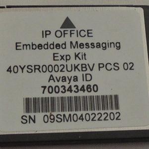 Avaya Embedded Card