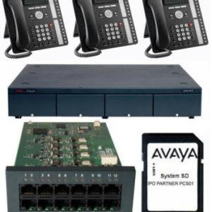 Avaya IP Office Analogue or ISDN Combo